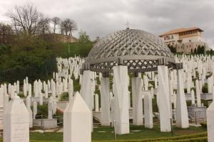 Alija İzzetbegoviç'in Mezarı