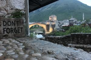 Mostar'da Akşamüstü