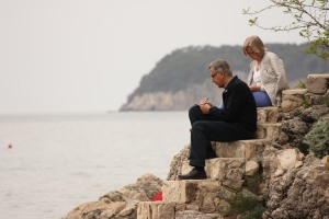 Dubrovnik'te aşk harbi başkaymış
